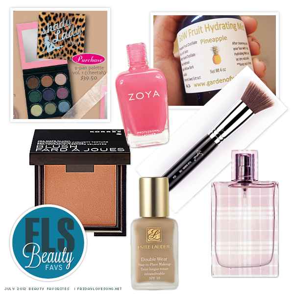 July 2012 Beauty Favorites - fridaylovesong.net